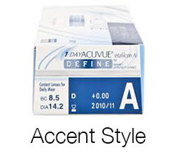 1 Day Acuvue Define Accent Style - 10 pieces