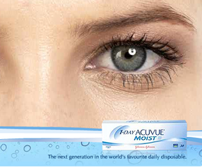 1 Day Acuvue Moist With Lacreon