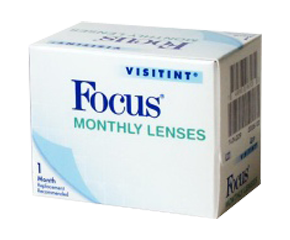 Focus Monthly Clear Lens